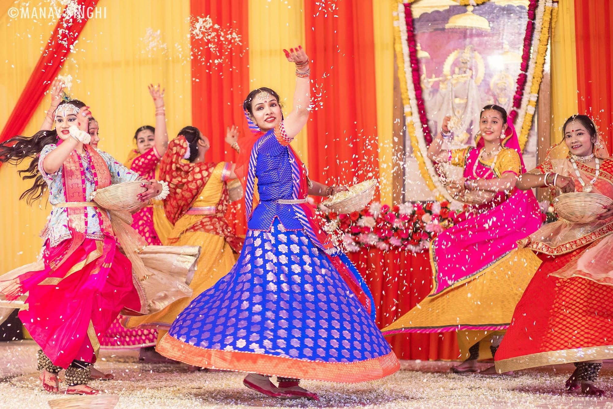 Kathak Guru Dr Swati Agarwal Fag Utsav 2021 Govind Dev Ji Jaipur