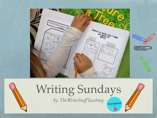 Creating a Writing Schedule: Writing Sundays #1