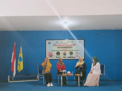 Peringati International Womens Days; KOPRI Komisariat STAI Sangatta Gelar Dialog Keperempuanan