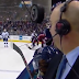 Pierre McGuire nearly hit in face by puck (Video)