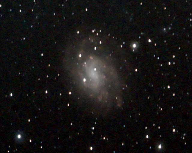 NGC 300 in Sculptor - 600 Second Image by Nicole F.