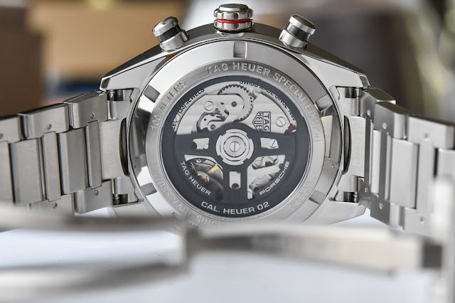 Review TAG Heuer Carrera Porsche Chronograph 44mm Replica With Low Price
