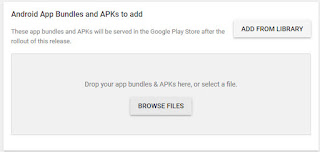 update aplikasi android di google play console
