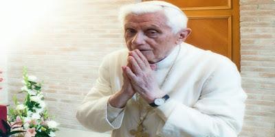Imagem do Papa Bento XVI
