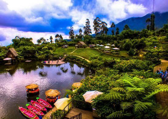 3 Tempat Wisata Keluarga Hits Di Kabupaten Bandung Yang