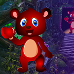 Games4King Apple Bear Rescue