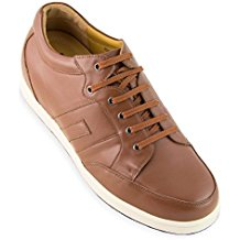 Masaltos Zapatos de Hombre con Alzas Que Aumentan Altura Hasta 7 cm. Fabricados EN Piel. Modelo Ibiza C