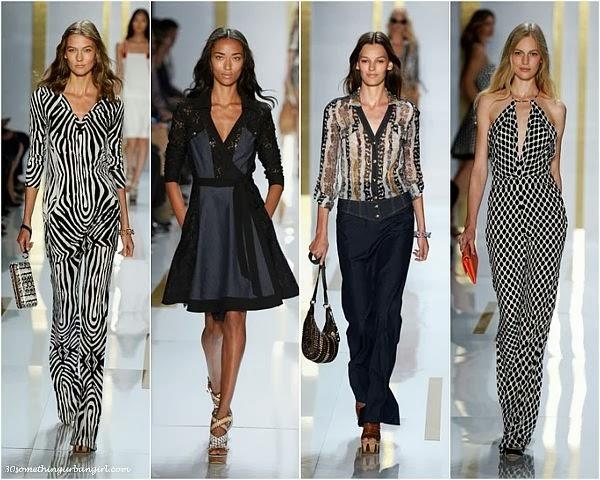 DianeVonFurstenberg S/S2014 runway dresses