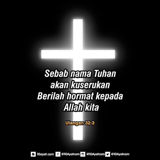 Ulangan 32:3