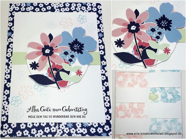 Große Trick-Grußkarte mit versteckten Botschaften Stampin' Up! www.eris-kreativwerkstatt.blogspot.de
