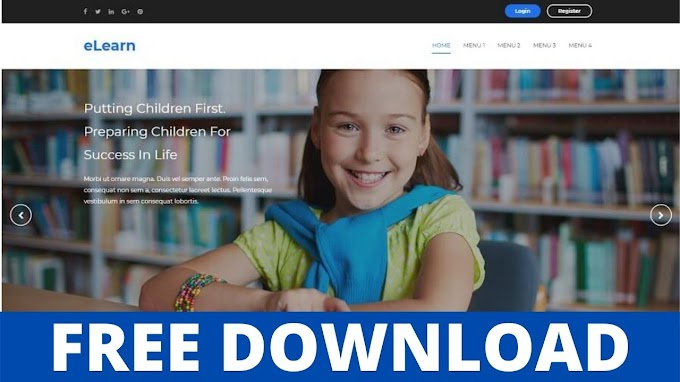 Download eLearn v3.0 - Responsive Education Blogger Template
