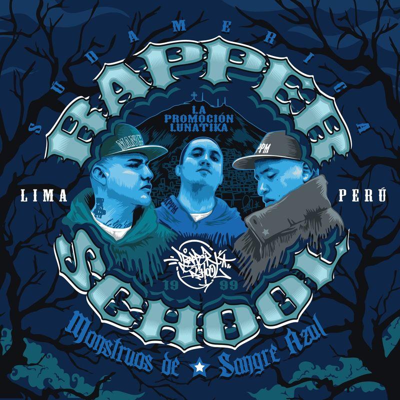 Resultado de imagen para Monstruos De Sangre Azul - Rapper School