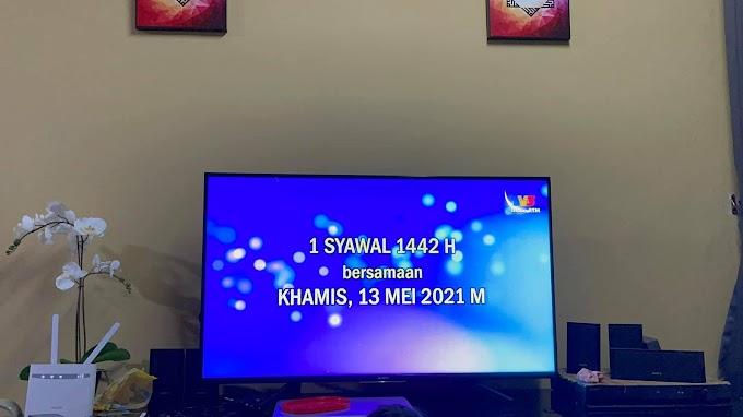 MENU RAYA PKP 1 SYAWAL AIDILFITRI 2021