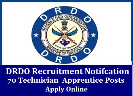 DRDO -SSPL Recruitment 2020