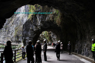 Tunnel of Nine Turns, Taroko Gorge, Taroko National Park, Taiwan