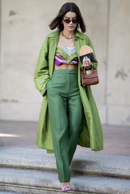 Модные образы яркой одежды 5