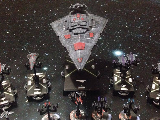 Star Wars Armada Field Test #1 Big deadly ISD