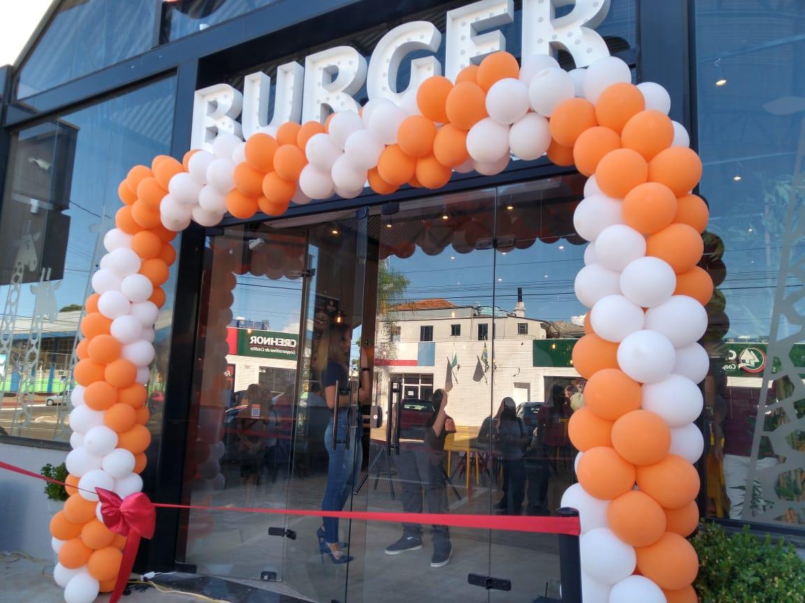 Laranjeiras do Sul recebe franquia do Giraffas Burger
