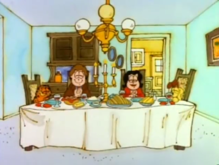 The Horror Movie Bbq Podcast Garfield S Thanksgiving