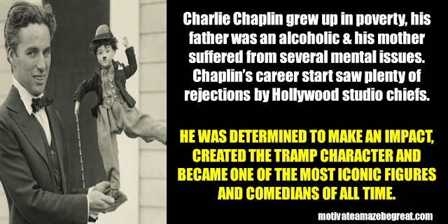 Success Stories From Famous People Who Failed Before Succeeding: Charlie Chaplin