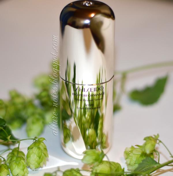 бьюти-обзор сыворотки Shiseido Glow Revival Serum