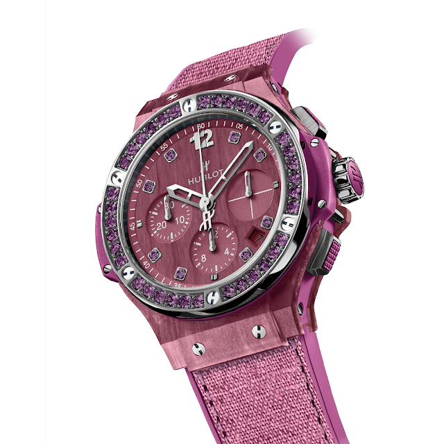 Hublot Big Bang Tutti Frutti Linen Mechanical Self-winding Chronograph Watch