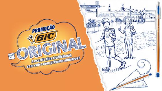 Promoção Bic Original