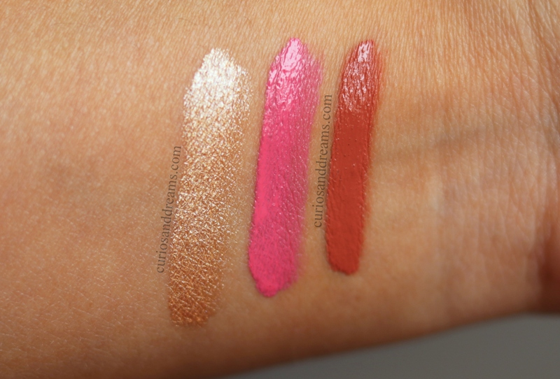 YBP Color Creams review, YBP Color Creams swatches
