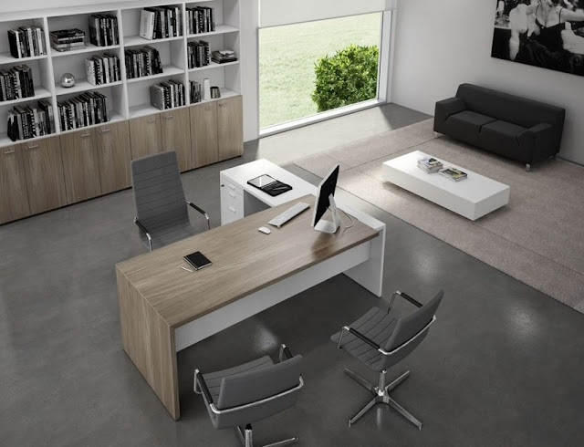 best buying modern office furniture in Miami with bookshelves for sale
