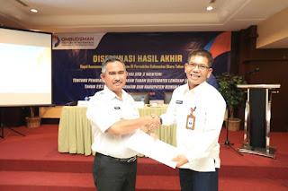 Rapat Diseminasi Hasil Akhir Implementasi SKB 3 Menteri di Hotel Tarakan Plaza