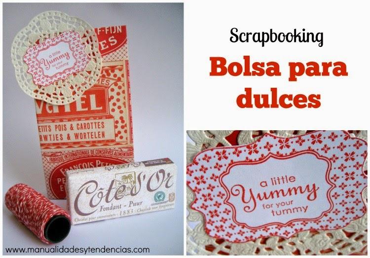 Bolsa para dulces vintage / Vintage candy bag