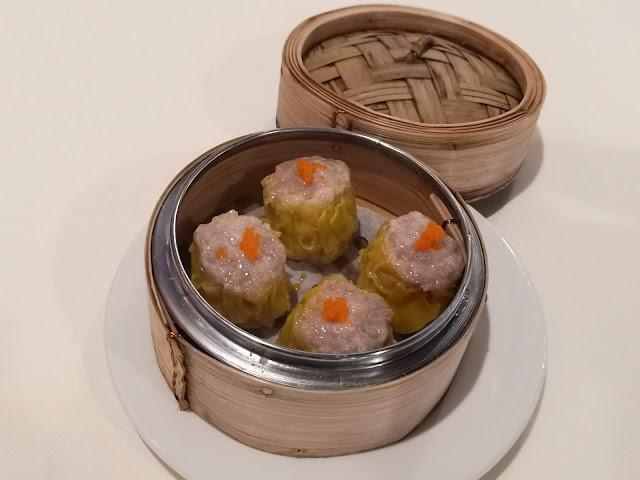 Pork Siew Mai with Salted Egg Yolk