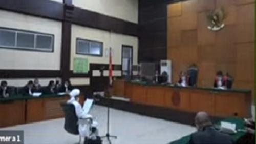 HRS Khawatir 7,5 Juta Peserta Aksi 212 Datang ke Pengadilan Menyambut Tantangan Jaksa