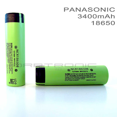 18650 Panasonic 3400mah NCR18650B specifications datasheet