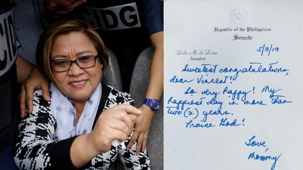 De Lima proud mother as youngest son passes 2018 Bar exams
