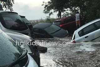 Καιρός: Νέες εικόνες χάους στη Σιθωνία της Χαλκιδικής - Πλημμύρες και καταστροφές [photos]