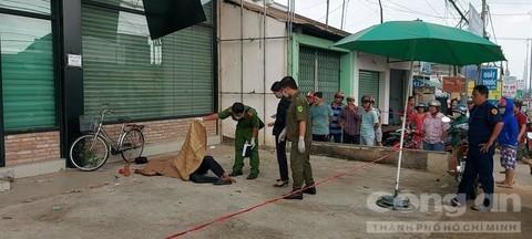 Phát hiện thi thể người đàn ông chết cứng bên lề đường