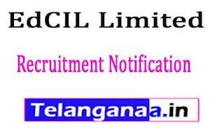 EdCIL Limited Recruitment Notification 2017 Last Date 18-02-2017