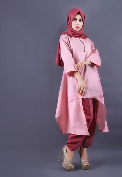 13 Kreasi Baju Muslim Tunik Terbaru