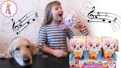 Ароматные игрушки-повторюшки ChatiCreams: детские микрофоны в форме мороженого