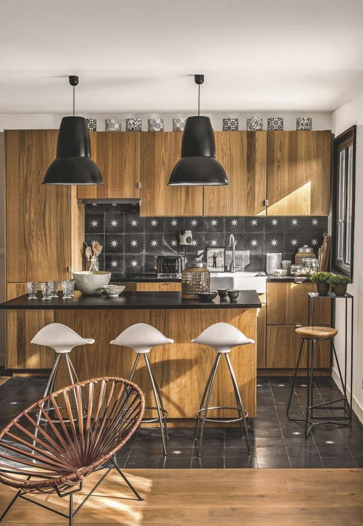 Chez Odile Baudry de Secret Maison sur l'île de Ré - cuisine
