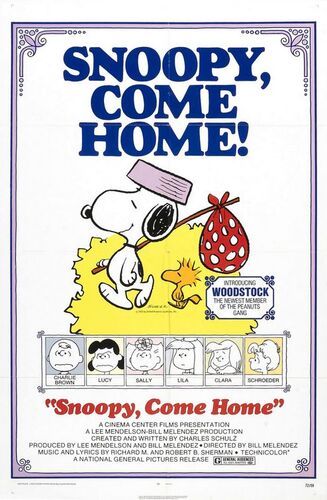 Snoopy ,Come home
