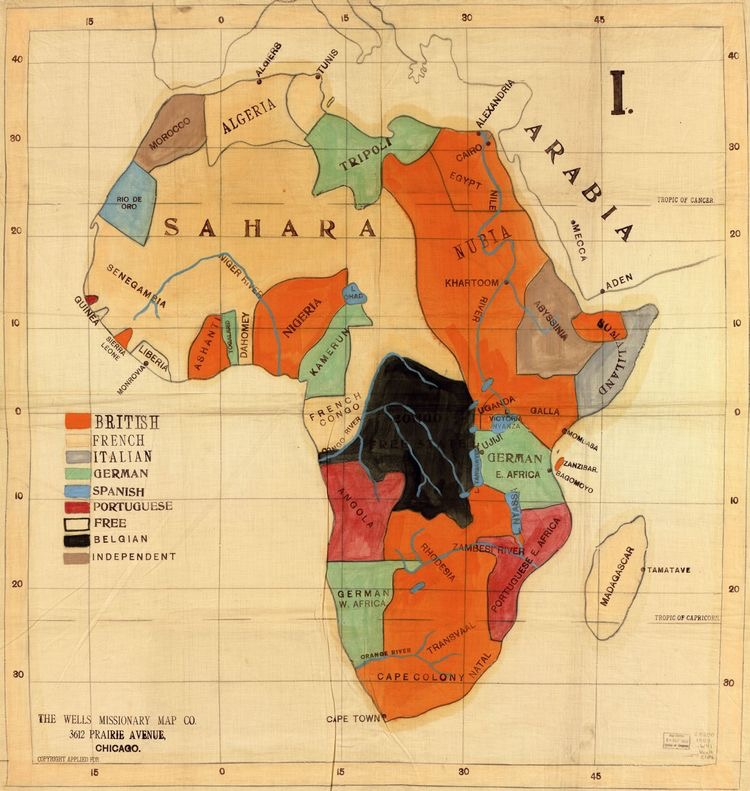 Mapas da África