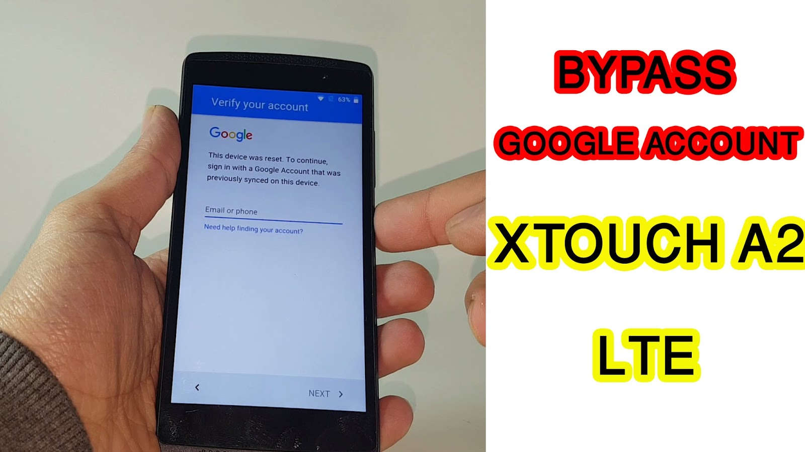 How To Bypass Google Account On My Alcatel One Touch Easy