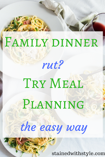healthy family meal, meal planning, dinner recipes
