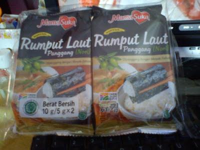 Halal & Vegan snack : Mama Suka Nori VS Tao Kae Noi