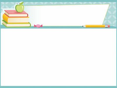 خلفية تعليمية متميزة لبرنامج الباوربوينت للمدرسين والطلبة والطالبات