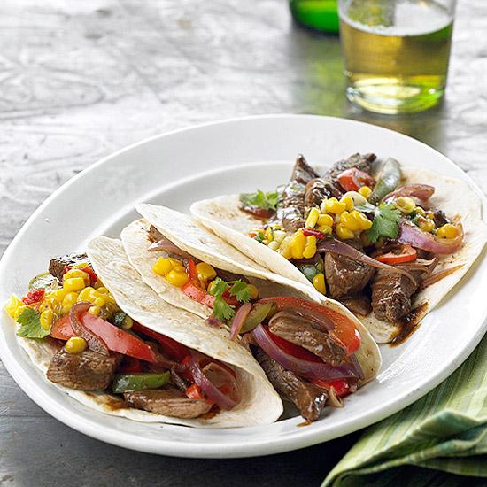 Cowboy Steak Tacos