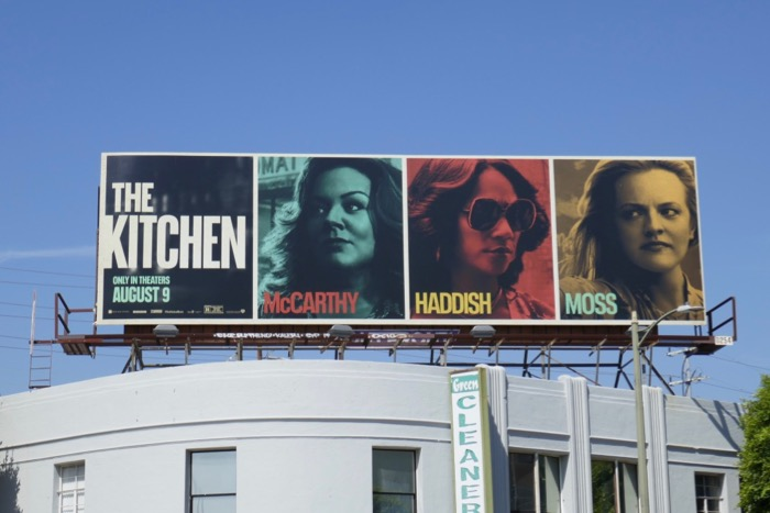 Kitchen movie billboard