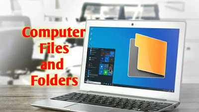 Files and folder in computer, files, folders